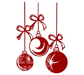 Vinilos Decorativos Navidad Bolas De Navidad Comprar En Tienda - Decorativos-de-navidad