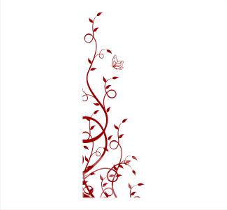 Vinilos Decorativos Florales Enredadera Trepadora Comprar
