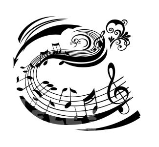 Vinilos decorativos musicales pentagrama hip hop comprar for Vinilos decorativos pentagrama musical
