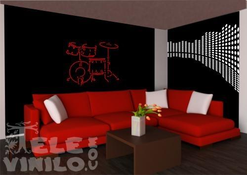 Vinilos decorativos musicales ecualizador comprar en for Vinilos por internet
