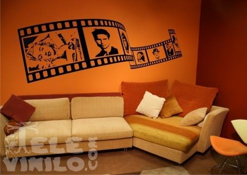 Vinilos decorativos cine fotogramas comprar en tienda for Vinilos por internet