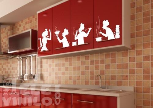 Vinilos decorativos adhesivos en la cocina comprar en - Pegatinas para cocinas ...
