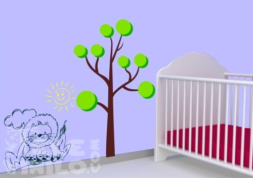 Vinilos Adhesivos Decorativos Rboles Infantiles Comprar