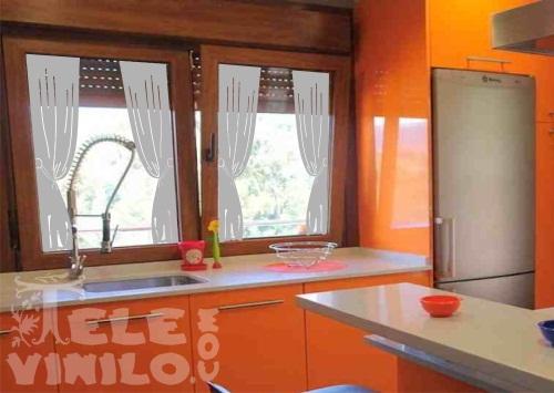 Vinilos decorativos para puertas y ventanas de cristales - Cristales para puertas de cocina ...