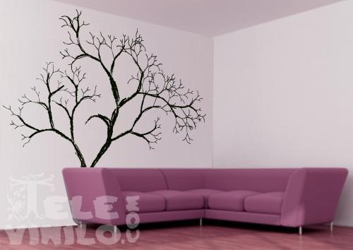 Vinilos decorativos rboles rbol sin hojas comprar en - Plantillas para pintar paredes ikea ...