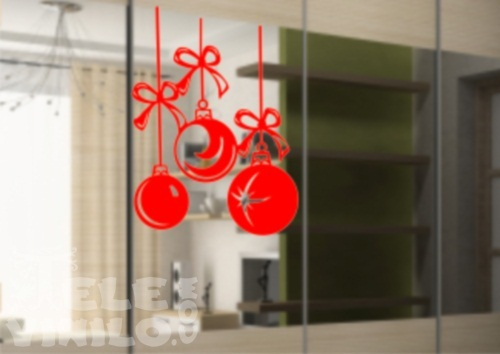 Vinilos decorativos navidad bolas de navidad comprar en - Decorativos de navidad ...