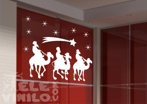vinilos decorativos navideos reyes magos