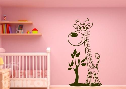 Vinilos decorativos infantiles jirafa medidor comprar en - Medidor de habitaciones ...