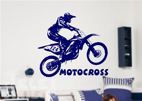 Vinilos decorativos adhesivos juveniles motocross comprar en tienda online venta por internet - Vinilos decorativos juveniles ...