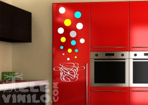 Vinilos decorativos adhesivos cocinas comprar en tienda - Vinilo muebles cocina ...