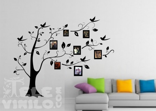 Adhesivos Decorativos Pared Arbol