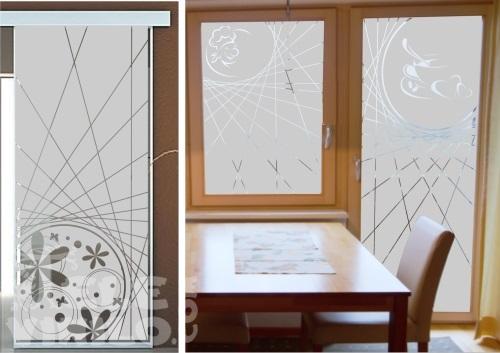 Vinilos decorativos adhesivos puertas y ventanas cristal for Vinilos para banos y cocinas