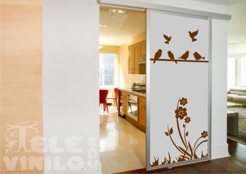 Vinilos decorativos adhesivos puertas y ventanas cristal - Vinilos decorativos para cristales ...