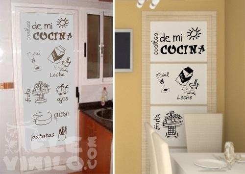 Vinilos decorativos dos colores puertas y ventanas cristal comprar en tienda online venta por - Vinilos puertas cocina ...