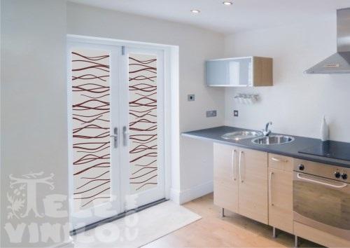 Vinilos decorativos dos colores puertas y ventanas cristal for Vinilos decorativos cristal