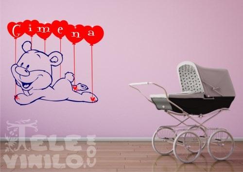 Vinilos decorativos infantiles nombres ni s comprar en for Vinilos por internet