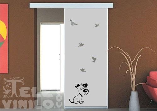 Vinilos decorativos adhesivos puertas y ventanas cristal - Vinilo para vidrios ...