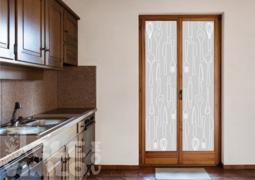 Vinilos decorativos adhesivos puertas y ventanas cristal - Vinilos para puertas de armarios de cocina ...