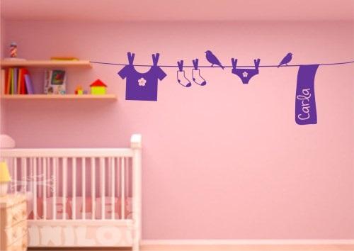 Vinilos decorativos infantil nombres personalizados - Vinilos decorativos personalizados ...