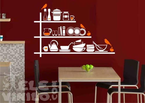 Vinilos decorativos adhesivos cocina comprar en tienda - Vinilos cocina originales ...