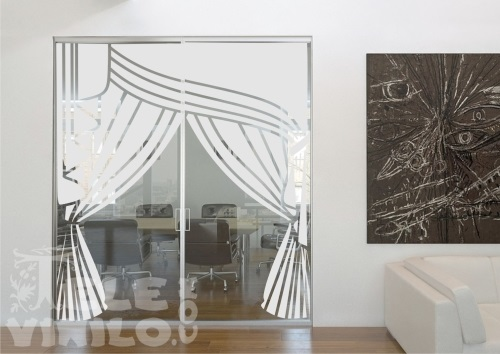 Vinilos decorativos para puertas y ventanas cristal for Vinilo para vidrio
