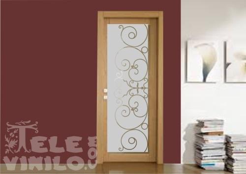 Vinilos decorativos para puertas y ventanas cristal - Decorar cristales de puertas ...