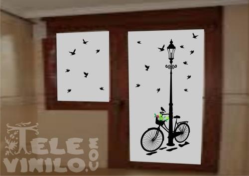 Vinilos para puertas y ventanas cristales en colores - Vinilos cristales ventanas ...
